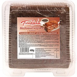 Медовые коржи с какао 400гр