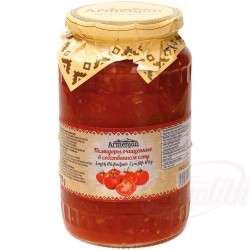 Oчищенные помидоры в...